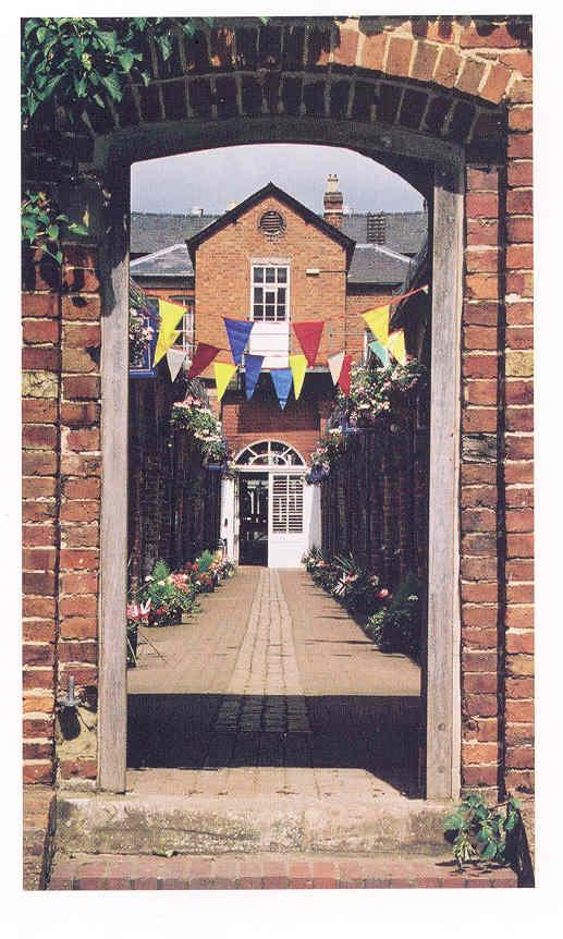 Bewdley Museum from Jubilee Gardens